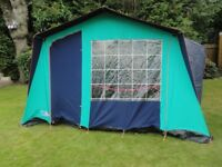 Lichfield Montana Frame Tent plus Camping Equipment For Sale