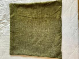 Green Square Cushion Cover