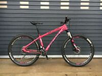 2017 Whyte 802 Compact Ladies Mountain Bike - Small. Very good condition