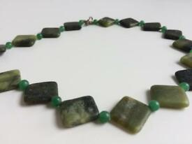 Handcrafted stone neckless