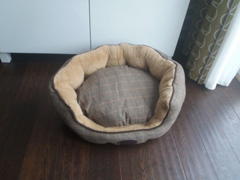 Wainwrights Herringbone Dog Bed