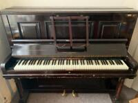 Stanley Brimsmead upright piano