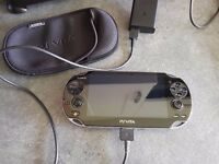 Ps vita WiFi fir sale. Comes with charger and case but no games.