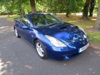 Toyota, Celica Sports Type, 1.8 Petrol, VVTi, Manual, Year 2000-V reg