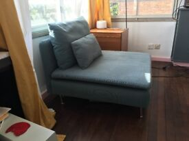 IKEA Soderhamn Turquoise Lounge Chair in great condition!