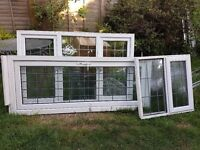 Windows and a door White PVC - Double glazed