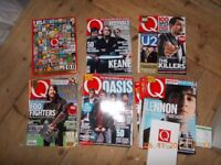 Q Magazine Collection, job lot, Nov 1997 - 2011, used but good condition.