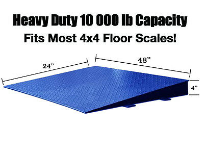 Floor Scale Ramp Customized 48 X 24 X 4 For Small Spaces Pallet 4 X 4