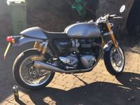 triumph thruxton r for sale dry miles only