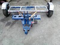 Recovery car towing dolly