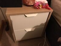 Bedside table and storage unit
