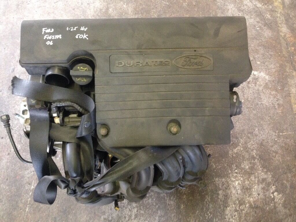 Low mileage 2006 Ford Fiesta 1.25 16v duratec engine