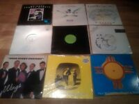 38 X paul mccartney vinyl collection picture discs , tour programmes promo , limited editions