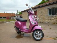 Ultra-low mileage Full service history Vespa