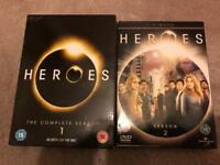 Heroes Season 1 & 2 DVD Boxsets