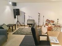 Rehearsal Rooms & Production Space- South Wimbledon