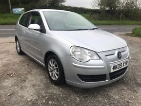 VOLKSWAGEN POLO BLUEMOTION 2 1.4 TDI A/C 3DR SILVER 2009 £0 TAX