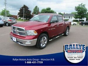 2012 Ram 1500 4x4 Crew Cab! Big Horn! Back-Up! Alloy! Trade-In!