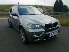 2009 BMW X5 3.0d MSPORT 7S HIGH SPEC PAN ROOF 7 SEATS HEATED LEATHER SUBARU COSWORTH RS LAND ROVER