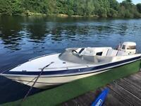 Picton 170gts speed boat. 150hp speedboat.
