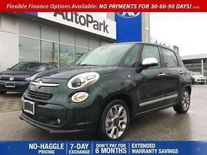 2015 Fiat 500L Lounge| Navigation| Rear View Camera| Heated Seat