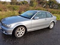 BMW 318 CI COUPE E46 ** 2004 ** LOW MILES ** 11MONTHS MOT ** 3 series LEATHER