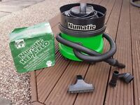 Numatic NNV 200-1 (Green Henry) Vacuum Cleaner with 8 filter bags