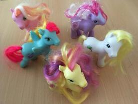 10 my little ponies and accessories