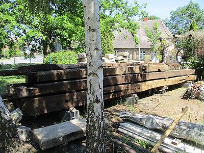 ca 200 Jahre altes Fachwerk aus Eiche / 8m lang / Eichenholz / Balken / Eiche