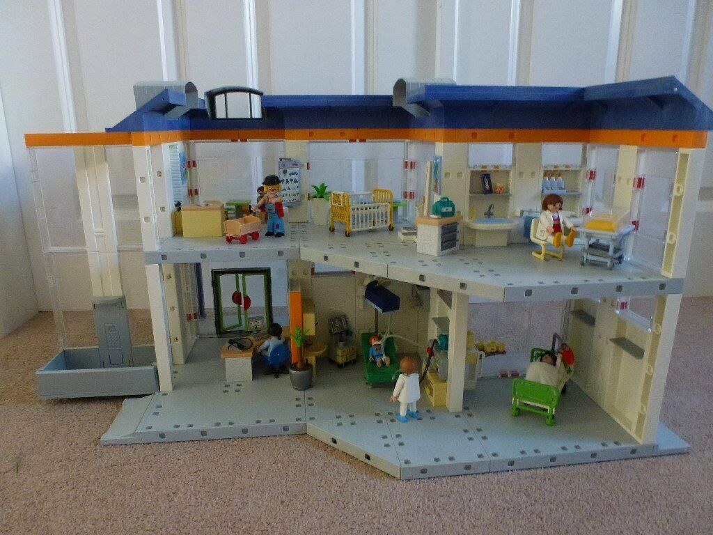 Fantastic Playmobil Hospital Accessories And Figures In Larbert Falkirk Gumtree