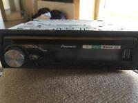 Pioneer car stereo /cd , iPod, Bluetooth