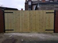 Gate. driveway gate h6f w11f heavy duty. Extra strong