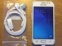 Samsung Galaxy J1 Sim Free Smartphone - White