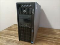 GAMING HP Z820 Workstation E5-2643 - 32GB Ram - NEW SSD - GeForce GTX 650 Graphics Gaming pc like i7
