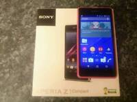 Sony Xperia z1 compact in pink. Sell or swap
