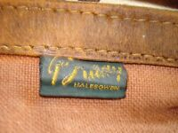 Vintage Canvas and Leather Game Bag