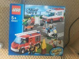Lego City Starter Set (rescue services): 60023