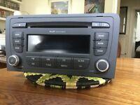Audi Concert CD Player (Blaupunkt) A3