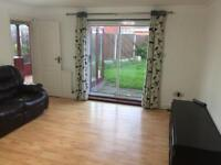 3 Bedroom House with Garage,Drive way and rear garden
