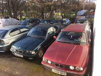 BMW 3 & 5 series BREAKING PARTS SPARES - E34 E36 E38 E46 - Engine Drivetrain Interior Wheels Body