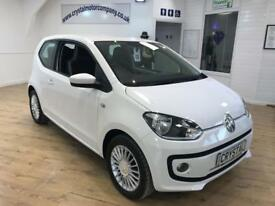 VOLKSWAGEN UP 1.0 HIGH UP 3d AUTO 74 BHP 15 INCH ALLOYS + 6 MONT (white) 2013
