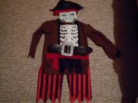 Pirates Of The Caribbean Costume Aged 8-10 years - Like New