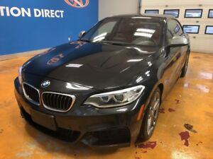 2014 BMW M235i M PACK!! / 6 CYL (320 HP) / NAVI/ POWER ROOF/