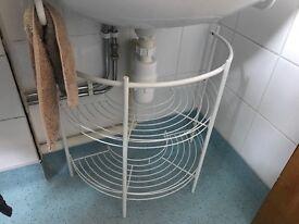 Bathroom storage stand