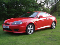 Hyundai Coupe - low mileage! Full Service History. 13 Months MOT