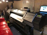 Solvent SC545EX printer / Cutter and Laminator