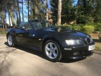 BMW Z3 2.0 V6 AUTOMATIC ROADSTER CONVERTIBLE, 12 MONTH MOT, ONE OWNER FROM NEW, LOVELY EXAMPLE
