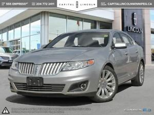 2012 Lincoln MKS 3.5L AWD **Heated/Cooled Seats-Moonroof-**