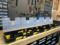 5 x Stanley Tool Box Organisers