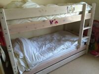 Bunk Beds with almost new mattresses